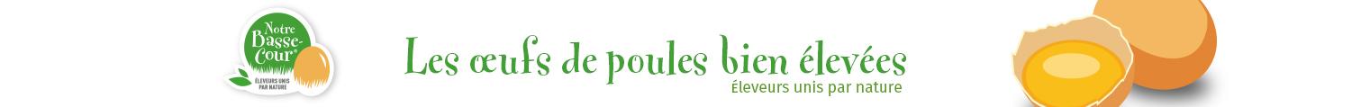 Notre Basse-Cour®- Elevage de poules pondeuses Logo